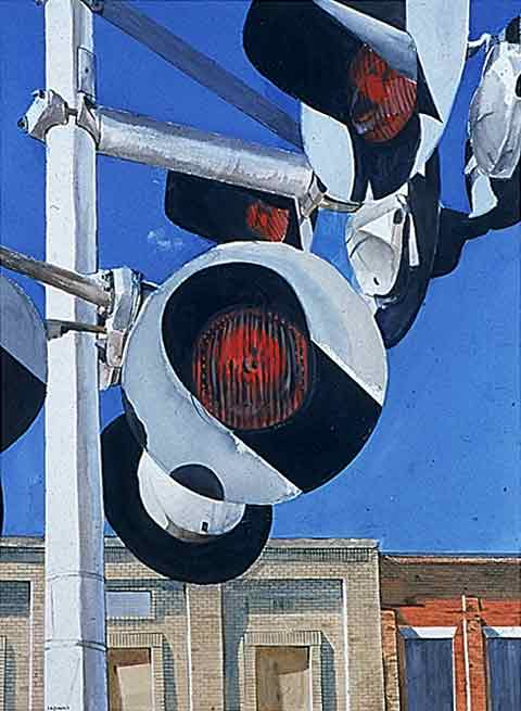 5 'til 4 (Train Crossing in Old Jefferson City)